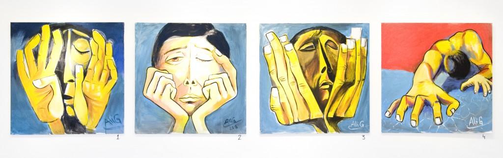 Utställning Ali Aljounde