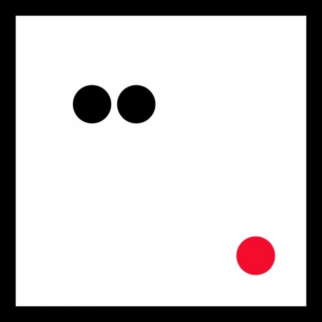 small logo_red dot_black frame_12_600px