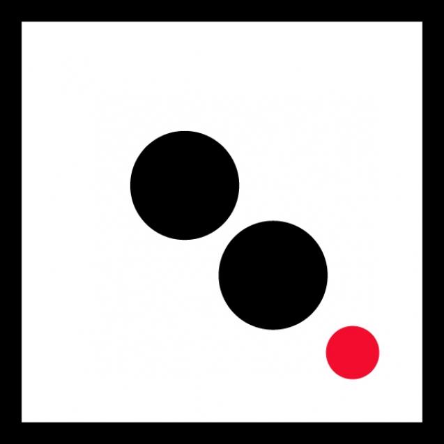 small logo_red dot_black frame_6_600px